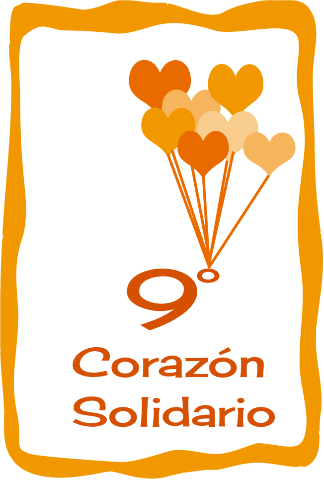 9 corazon solidario